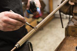 Rust-Bluing-a-Winchester-Model-1890-Barrel