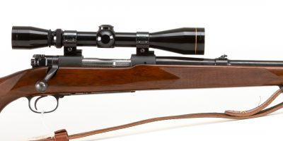 Photo of used Winchester Model 70 in .270 Winchester with Leupold Scope