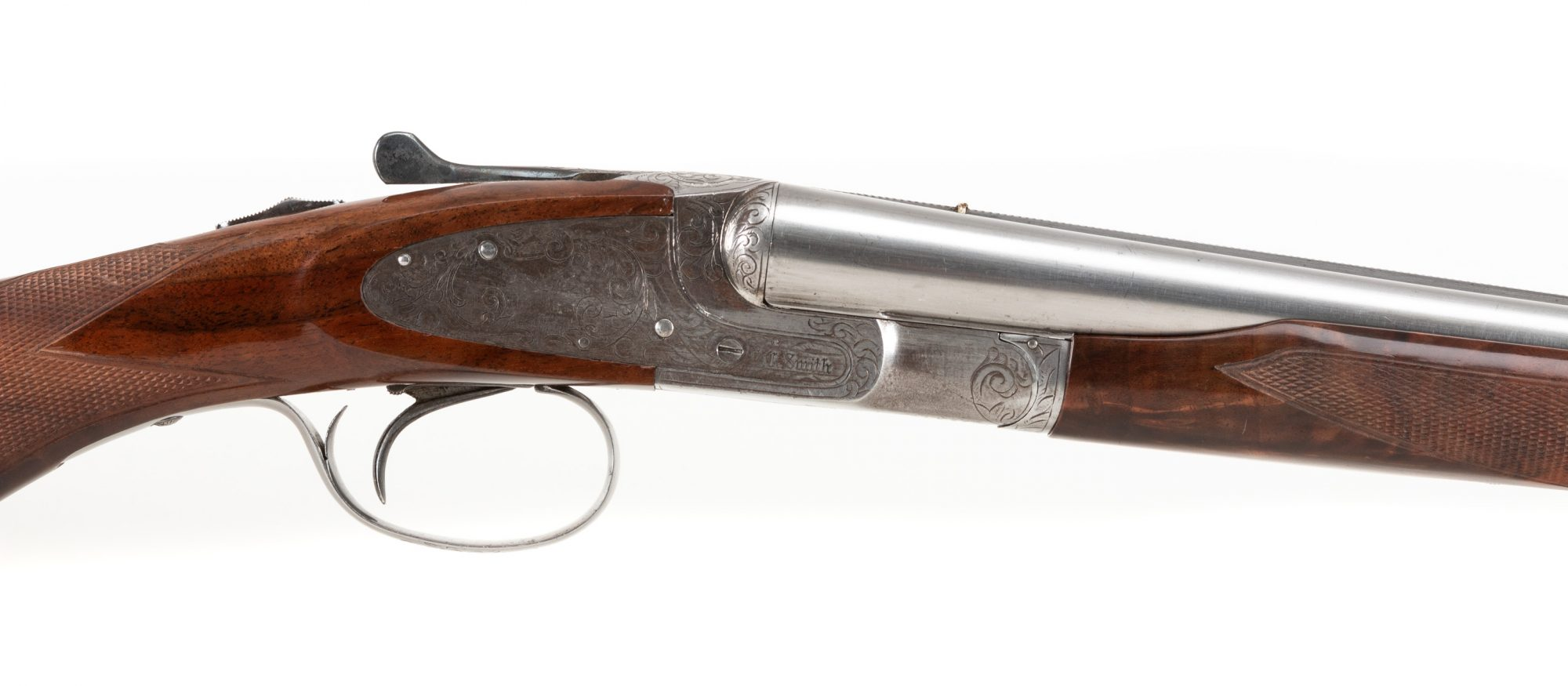 Photo of used L.C. Smith Specialty Grade 12 gauge shotgun
