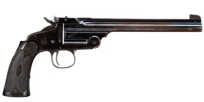 Photo of used Smith & Wesson 2nd Model single shot pistol in .22LR