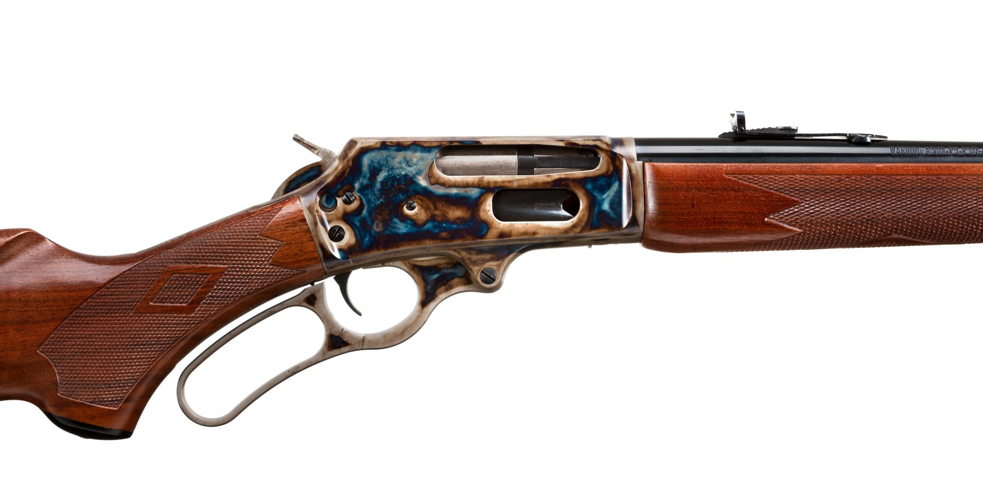 JM Stamped Marlin 336C with Turnbull Restoration Color Case Hardening