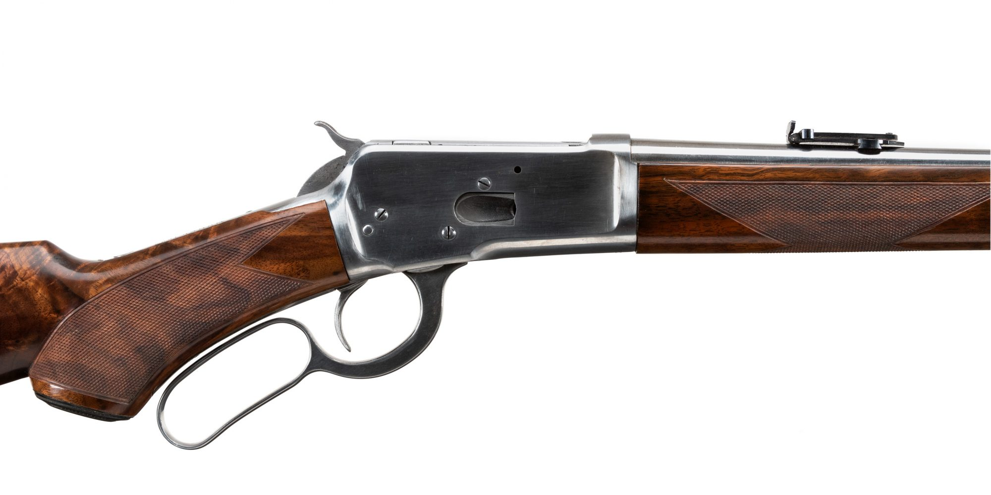 Photo of used Winchester Model 1892 SRC in .44-40 Win, metal in the white