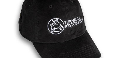 Photo of a Turnbull restoration branded cap