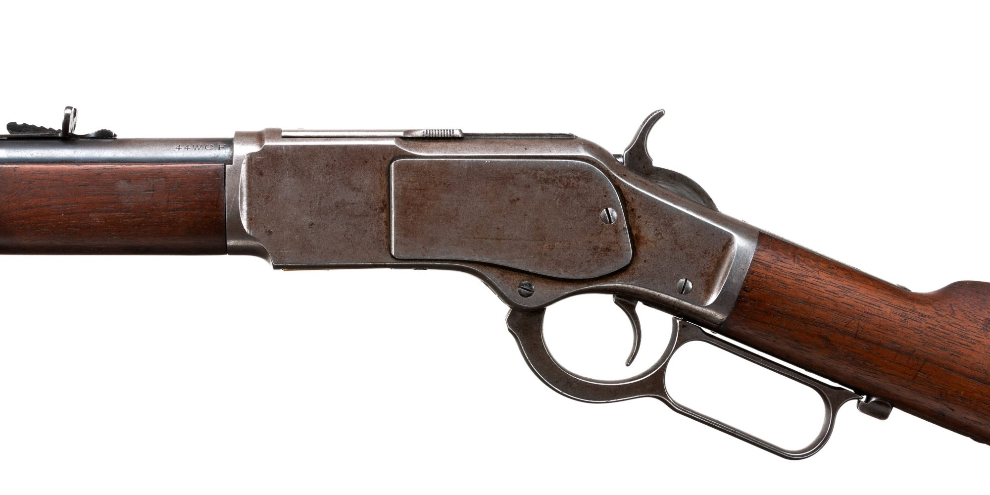 Photo of a pre-owned Winchester Model 1873, for sale through Turnbull Restoration