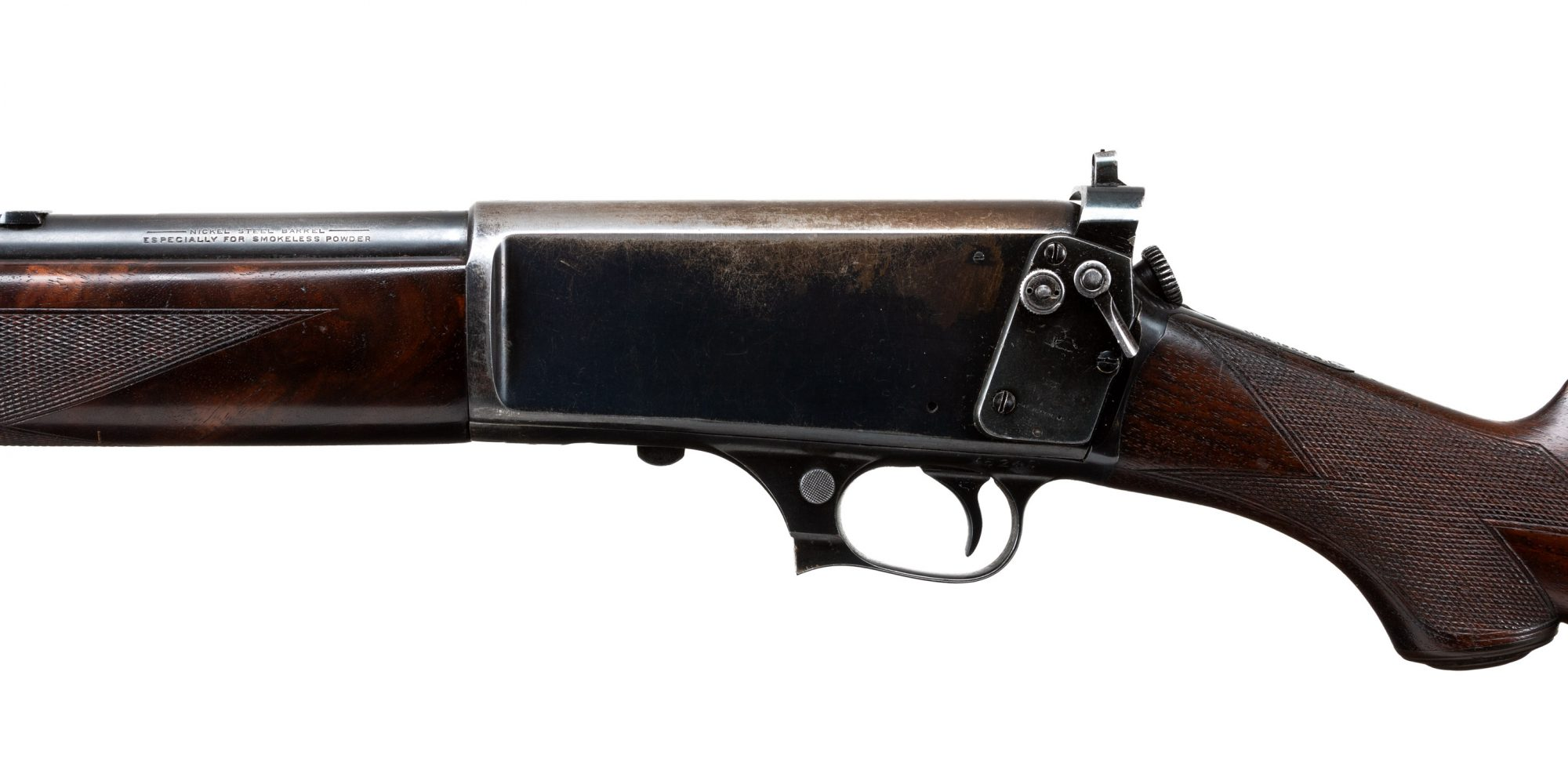 Photo of a pre-owned Winchester Model 1907, for sale through Turnbull Restoration