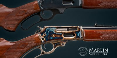 Photo of Turnbull Restoration color case hardening as applied to a late model Marlin 336C