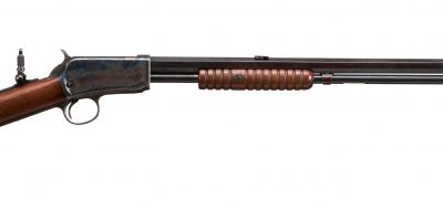 Photo of a pre-owned Winchester Model 1890, for sale through Turnbull Restoration
