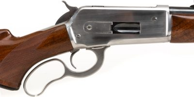 Photo of a used Winchester Model 71, sold as-is through Turnbull Restoration