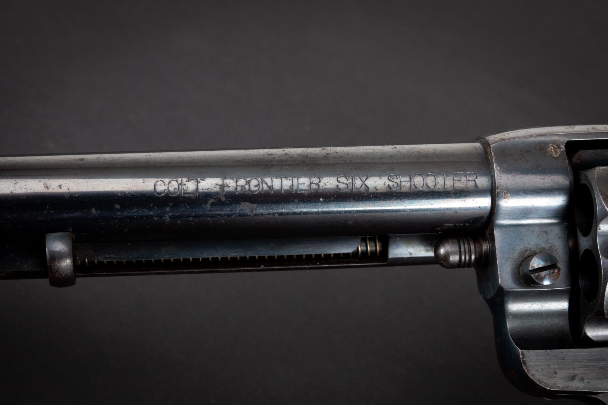 Photo of a pre-owned Colt 1878 Frontier Six Shooter, sold as-is by Turnbull Restoration