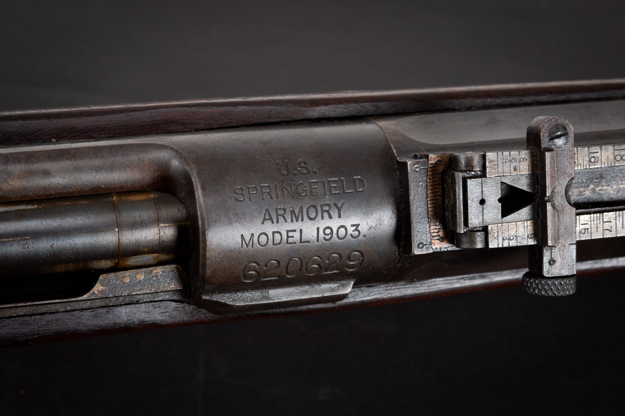 Photo of a pre-owned Springfield Model 1903, sold as-is by Turnbull Restoration