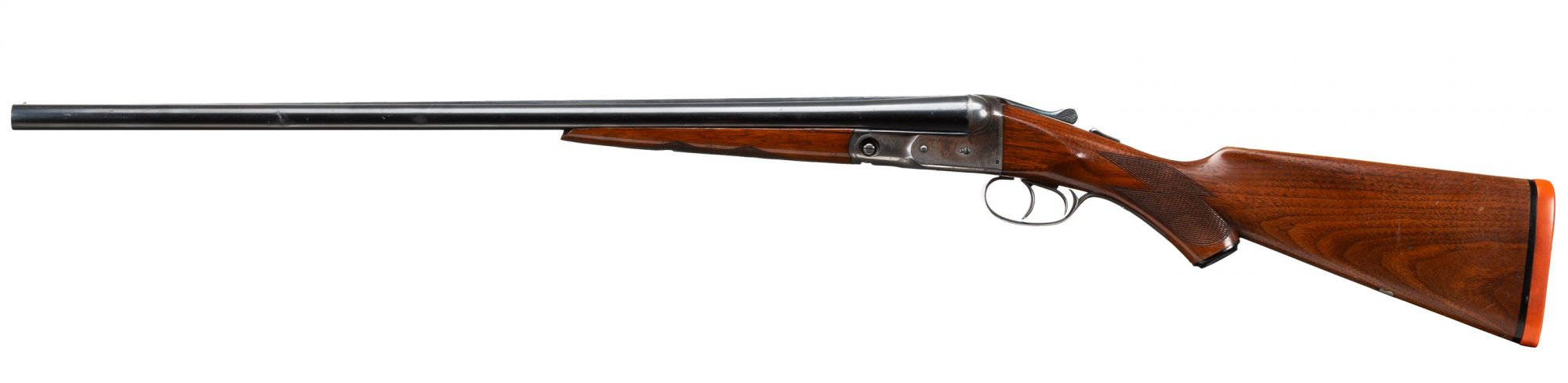 Photo of a pre-owned Parker VH 16 gauge side-by-side shotgun, available for sale as-is through Turnbull Restoration of Bloomfield, New York