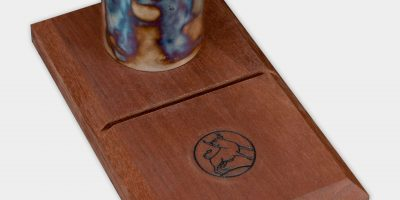 Photo of a Turnbull Restoration color case hardened pen holder