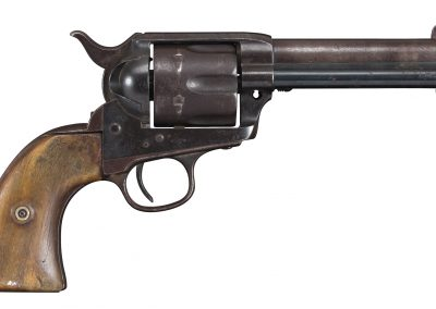 Photo of an antique Colt SAA, before restoration by Turnbull Restoration of Bloomfield NY