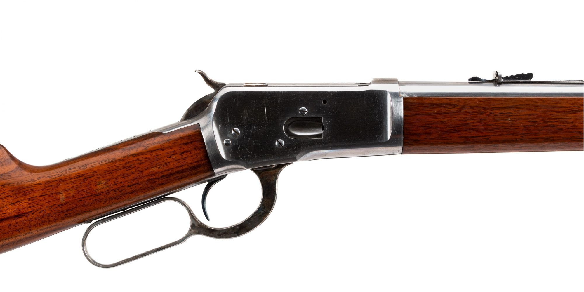 Photo of an original Winchester Model 1892, sold by Turnbull Restoration in Bloomfield, NY
