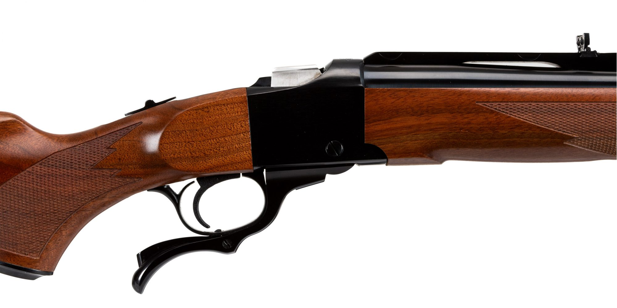 Photo of a pre-owned Ruger No. 1 single shot rifle chambered in .475 Turnbull