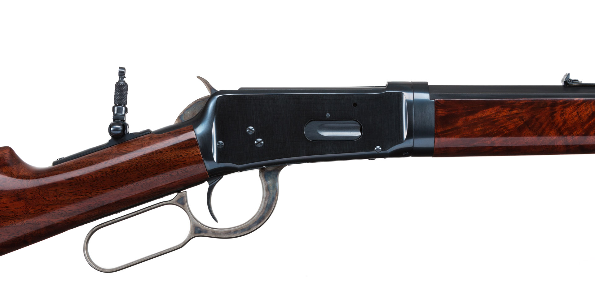 Photograph of a restored Winchester 1894 Takedown by Turnbull Restoration
