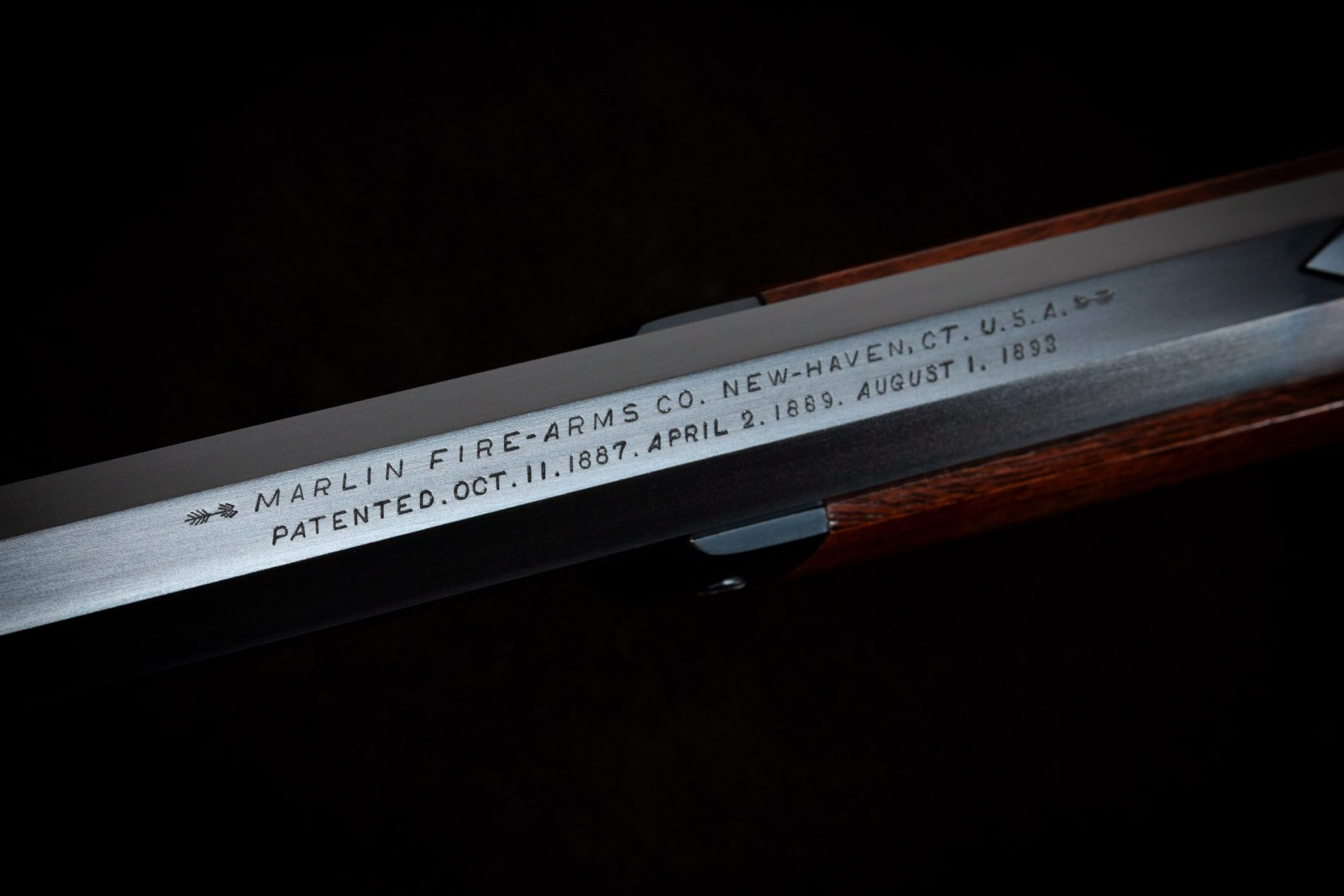 Photo of a restored Marlin Model 1893 by Turnbull Restoration of Bloomfield, NY
