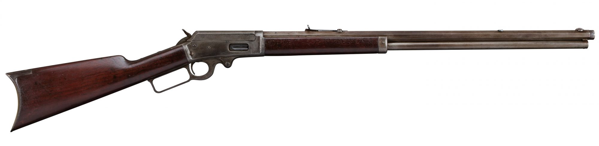 Photo of a Marlin Model 1893 before restoration by Turnbull Restoration of Bloomfield, NY