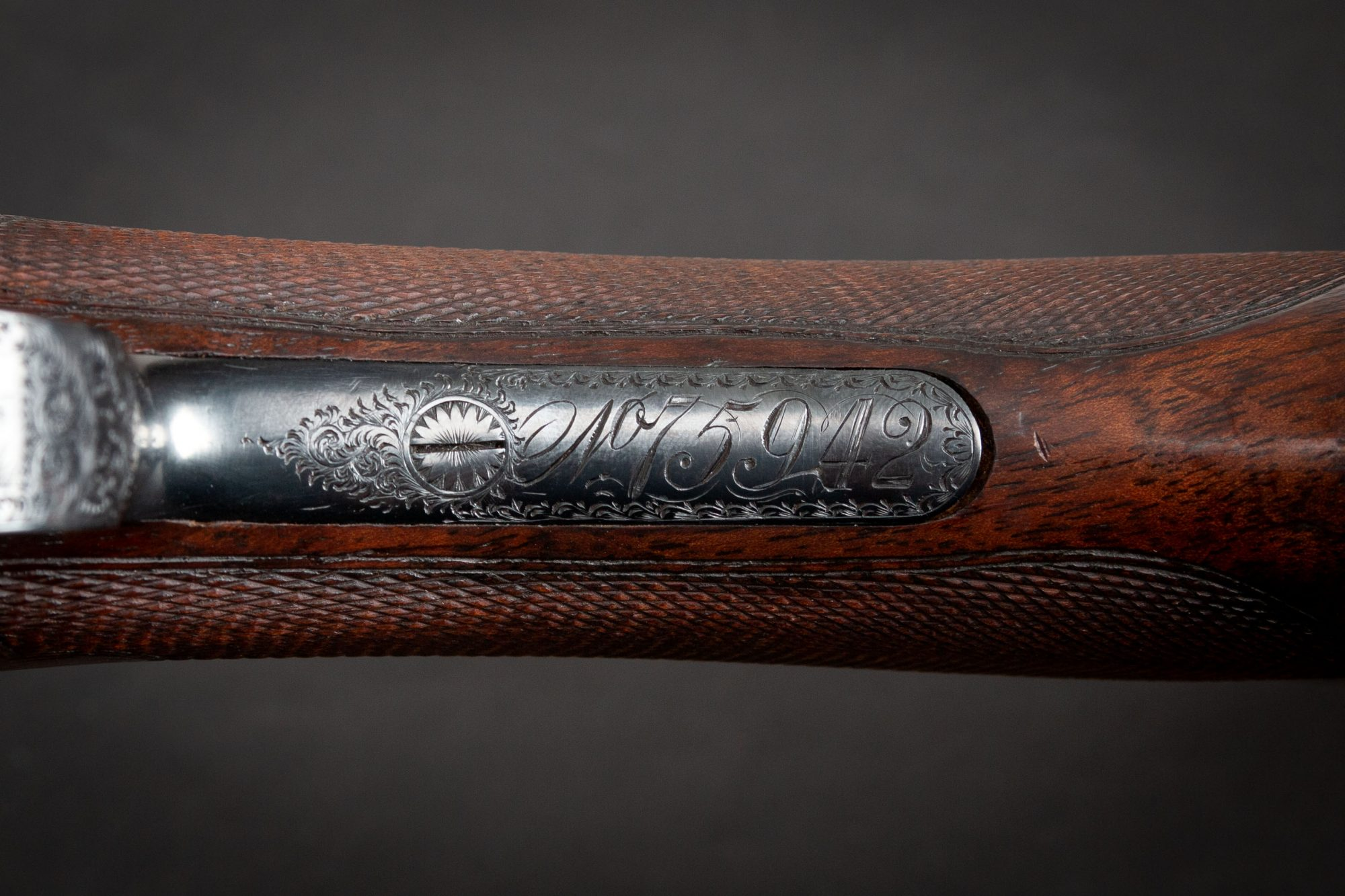 Photo of antique shotgun, Parker A Grade from 1892