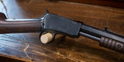 Photo of a pre-owned Winchester Model 1890 from 1913, as sold by Turnbull Restoration in Bloomfield, NY