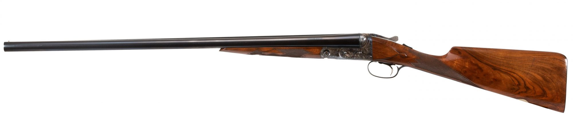 Photo of a pre-owned Parker Reproduction 12 Gauge DHE Steel Shot Special, for sale by Turnbull Restoration in Bloomfield, NY