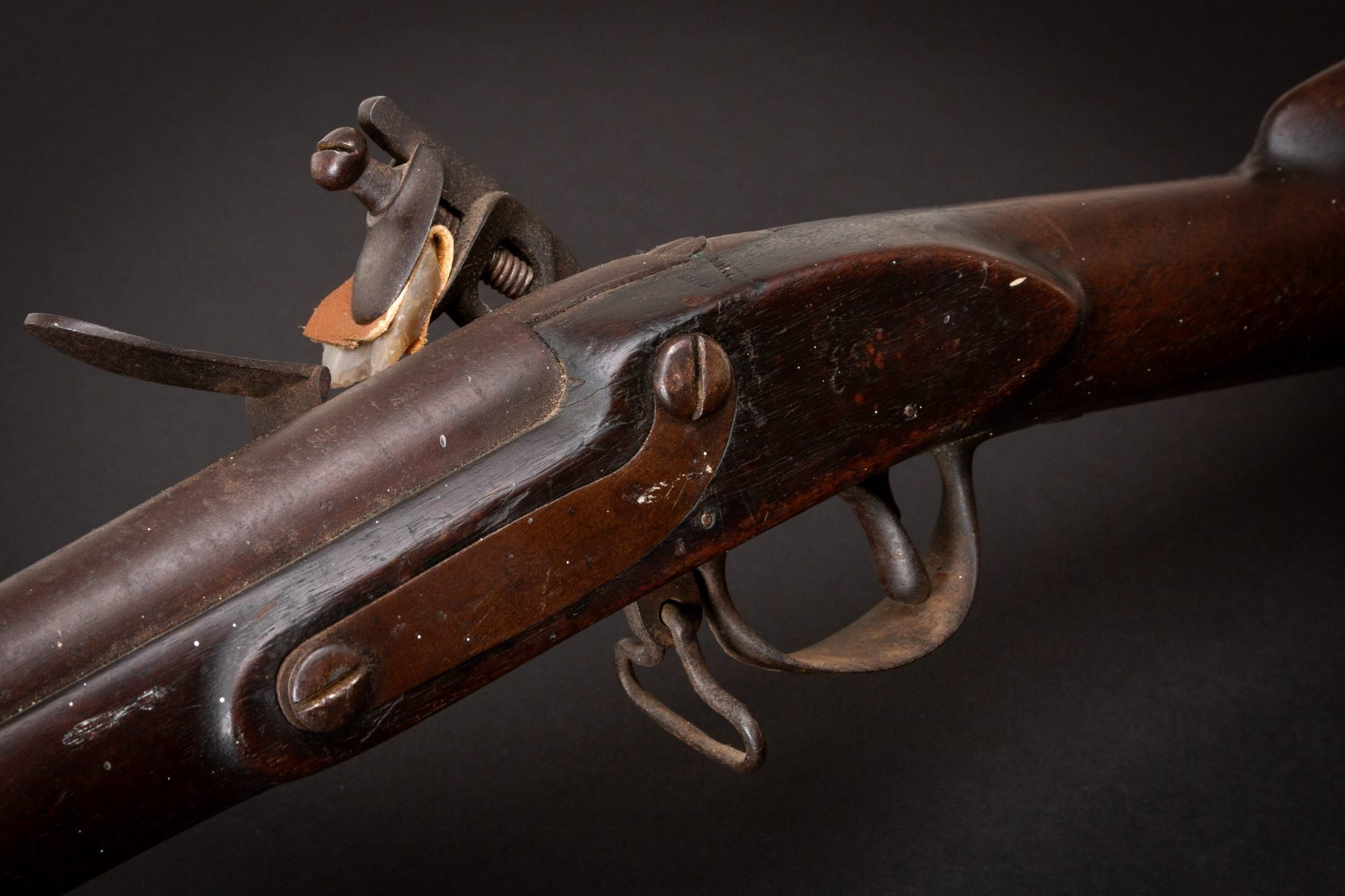 Photo of a Harper's Ferry Model 1795 Flintlock Musket from 1810, sold as-is by Turnbull Restoration in Bloomfield, NY