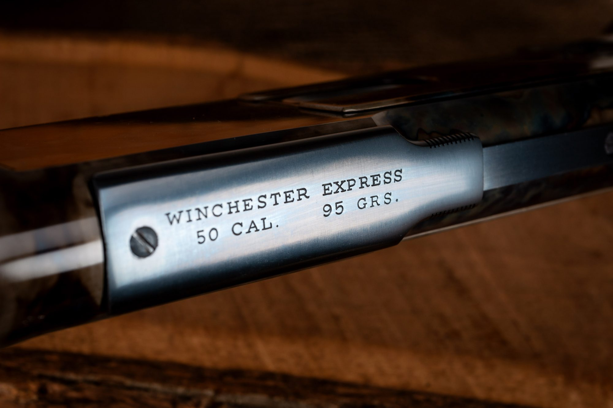 Photo of a Winchester Model 1876 from 1882, after restoration by Turnbull Restoration of Bloomfield NY