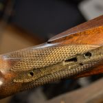 Photo of a German percussion rifle while being restored by Turnbull Restoration of Bloomfield, NY