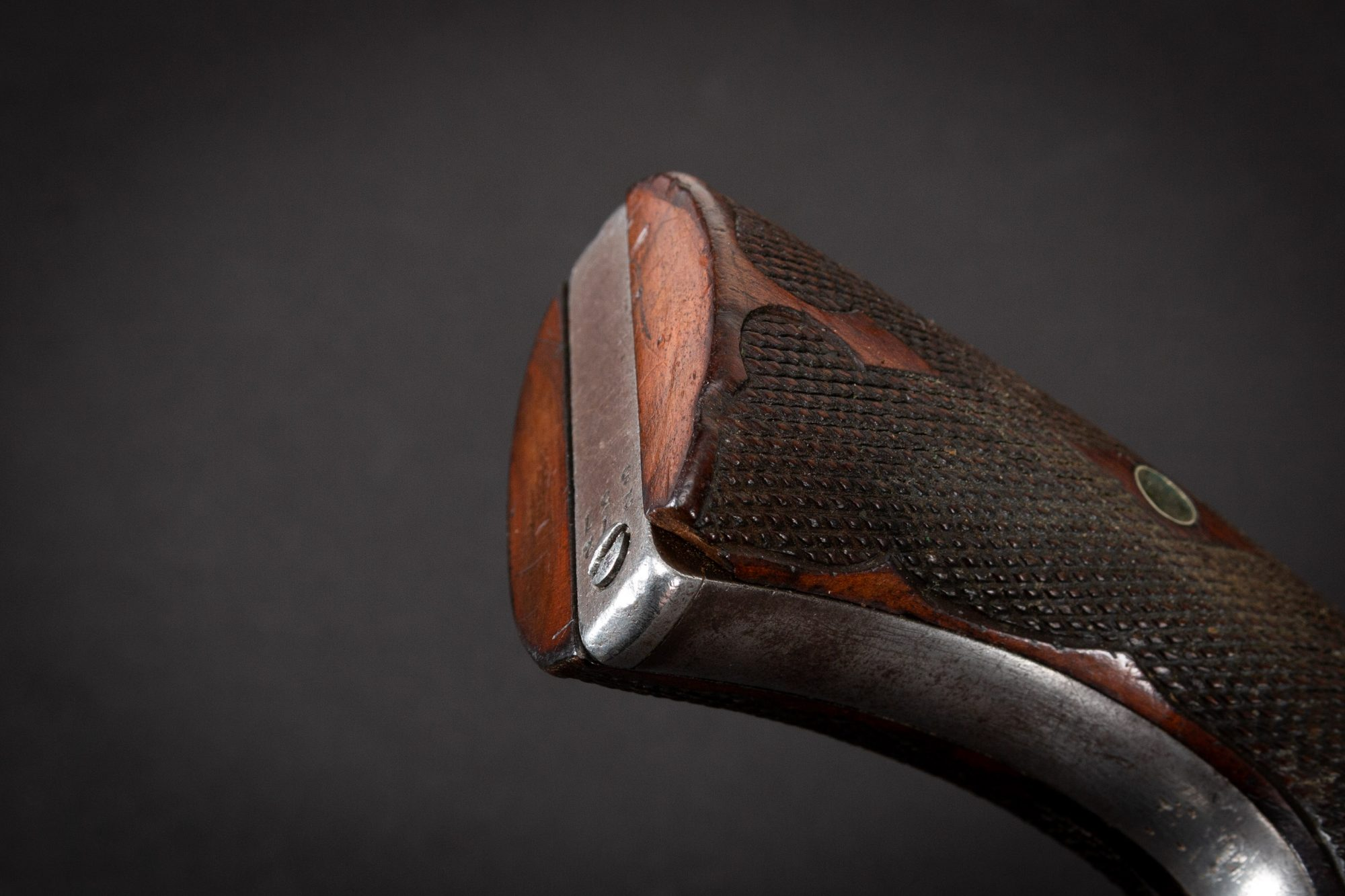 Photo of an original Colt SAA Bisley model from 1905, for sale by Turnbull Restoration of Bloomfield, NY