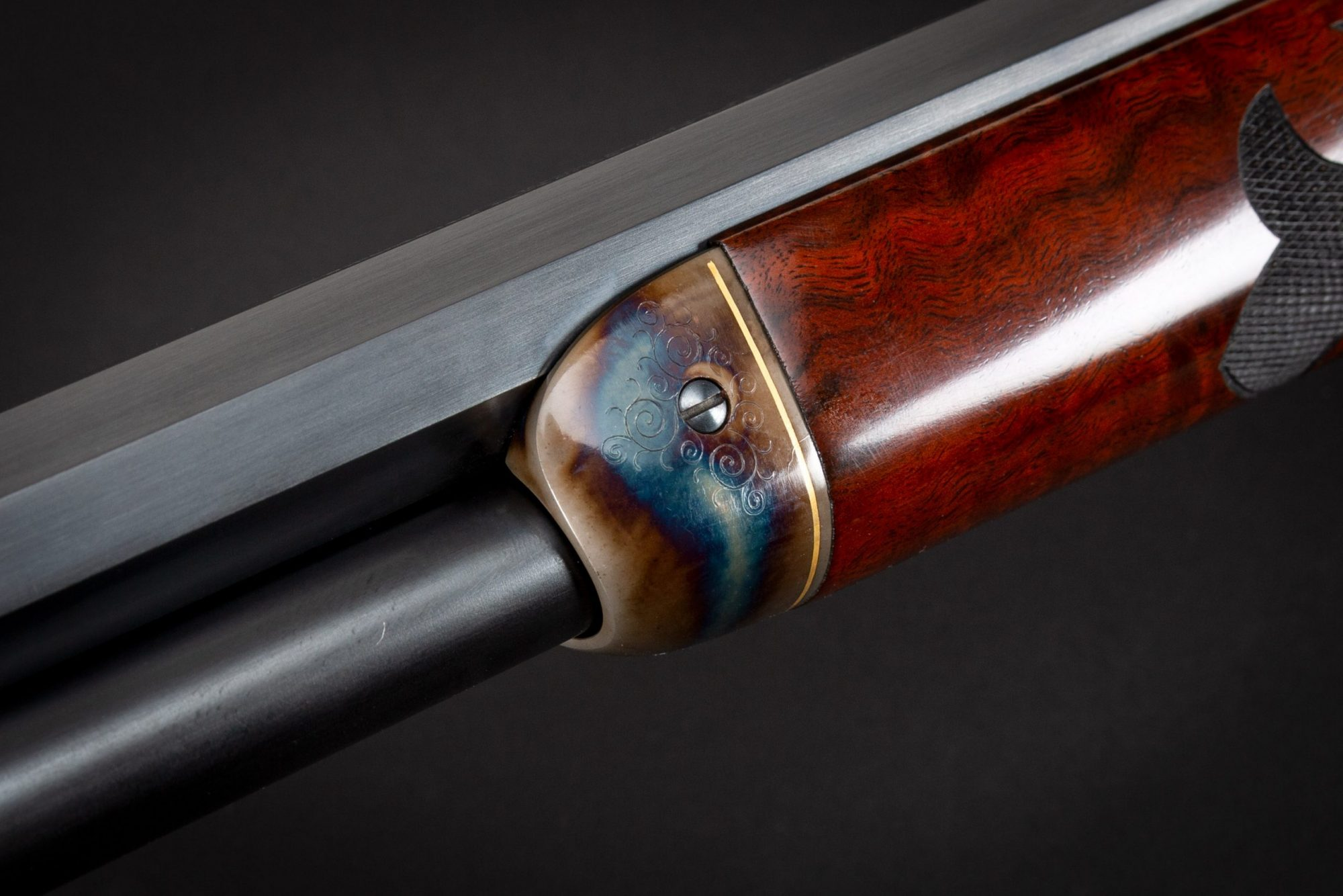 Photo of a restored Winchester 1886 from 1905