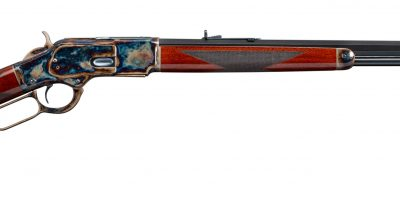 Photo of a Winchester Model 1873 from 1905, after restoration by Turnbull Restoration of Bloomfield, NY
