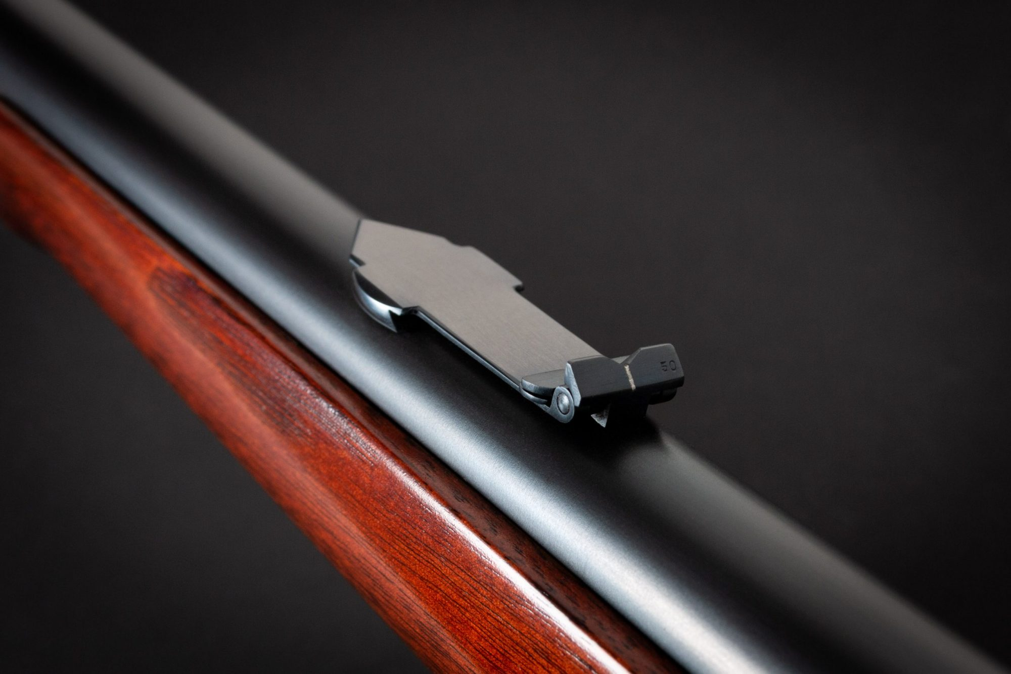Photo of a Winchester 1895 from 1915, restored by Turnbull Restoration of Bloomfield, NY