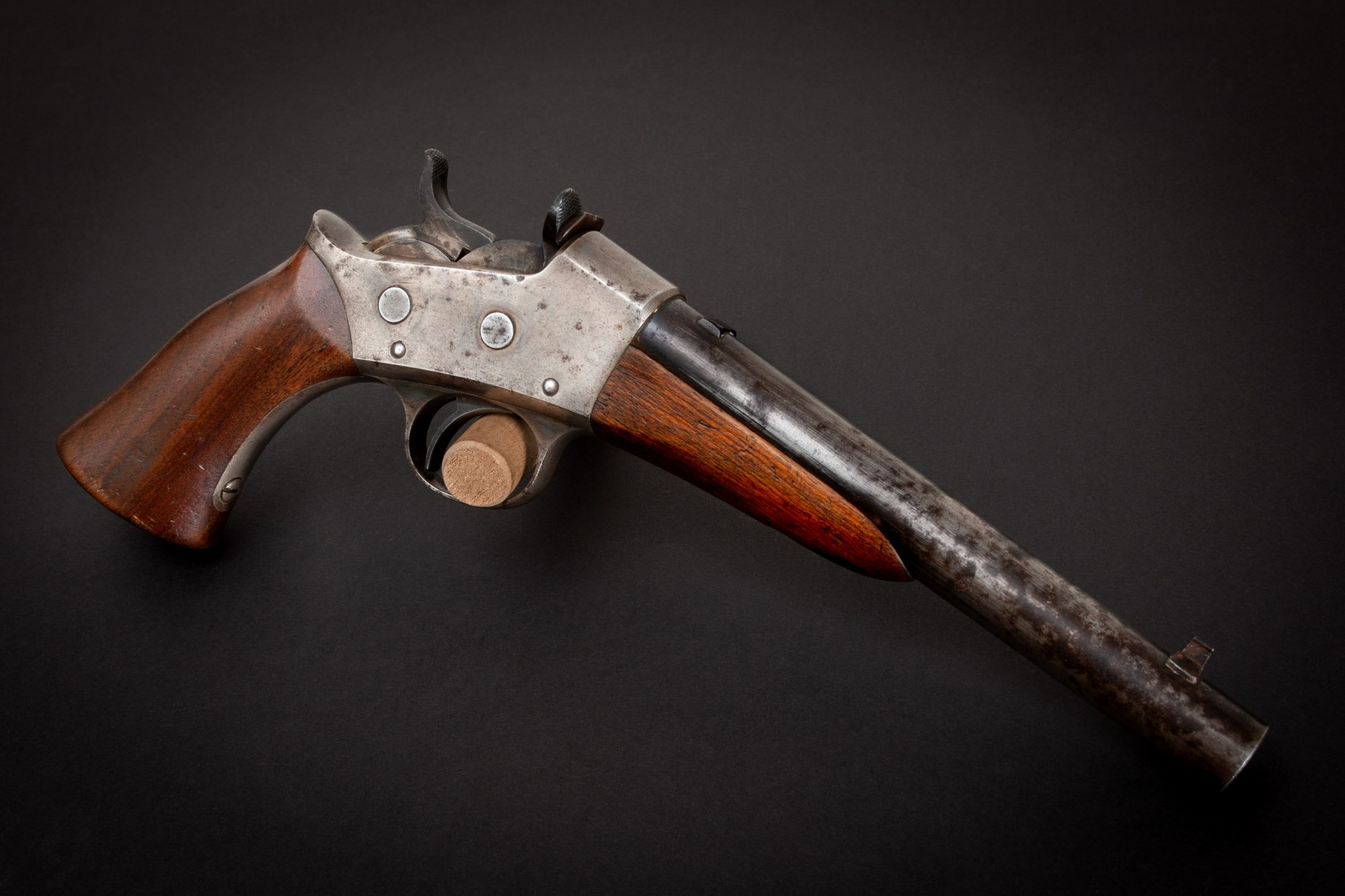 Photo of a pre-owned Remington Model 1871, for sale as-is through Turnbull Restoration of Bloomfield, NY