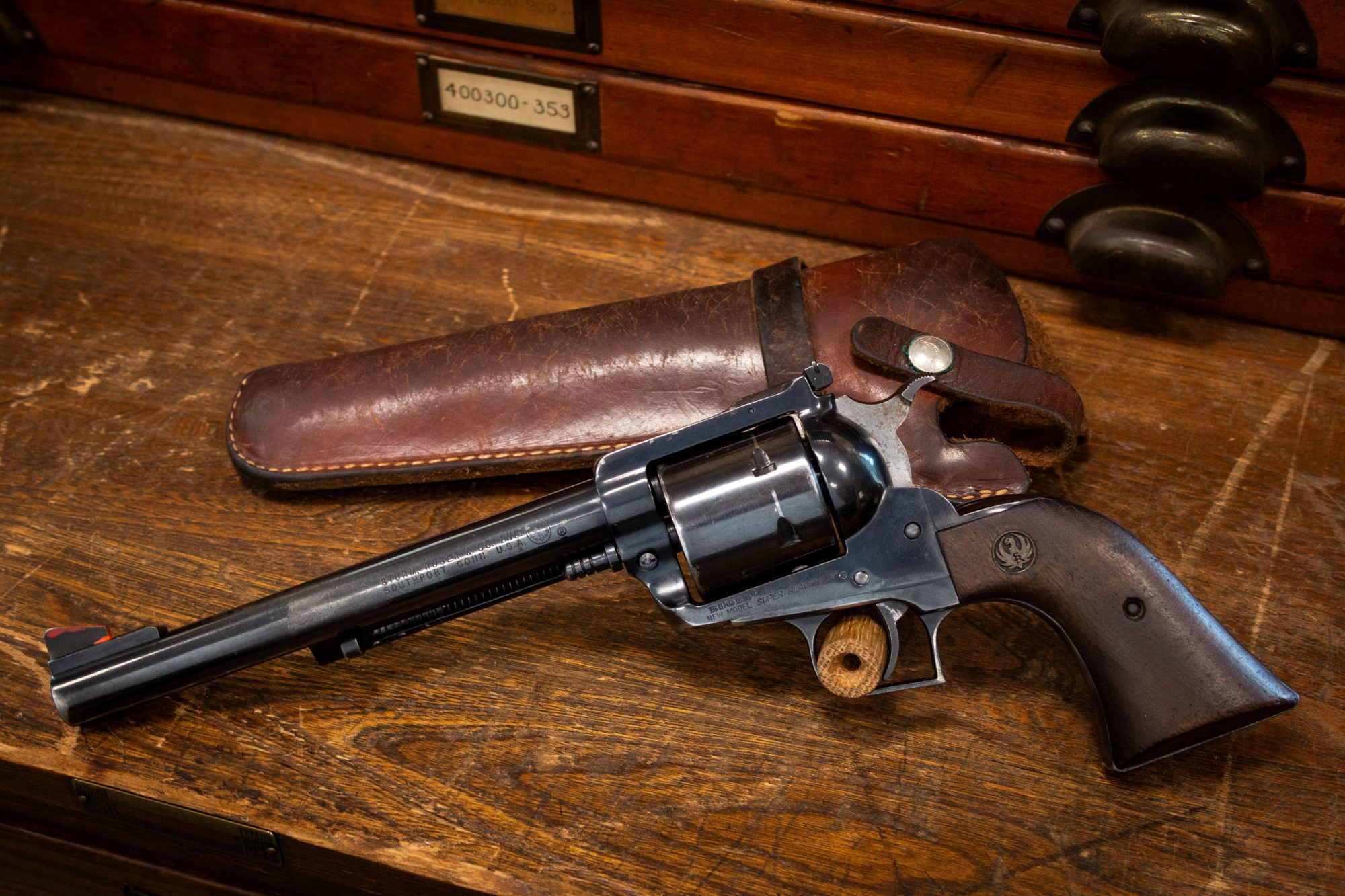Photo of a pre-owned Ruger Super Blackhawk, for sale as-is through Turnbull Restoration of Bloomfield, NY