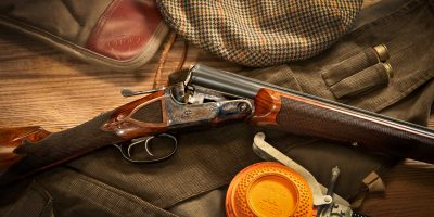 Photo of a restored Parker BHE 12 gauge shotgun by Turnbull Restoration of Bloomfield, NY