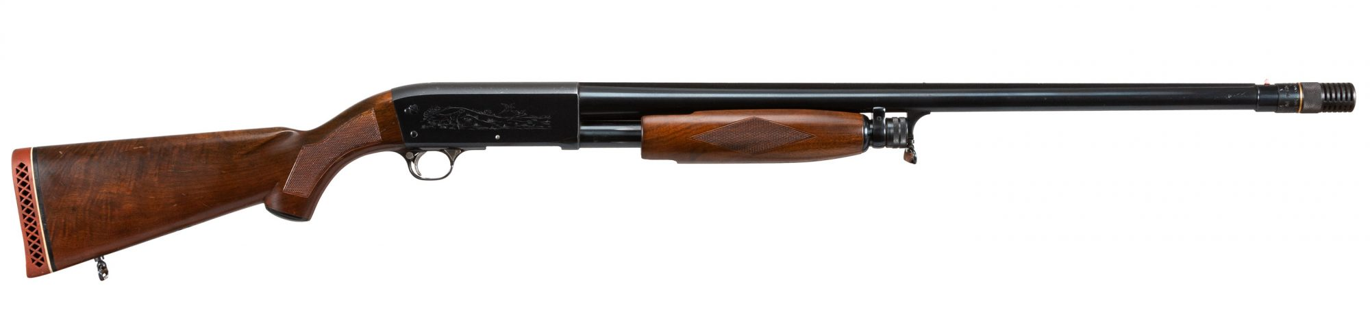 Photo of a pre-owned Ithaca 37R Deluxe Featherweight 12 gauge shotgun, for sale by Turnbull Restoration of Bloomfield, NY