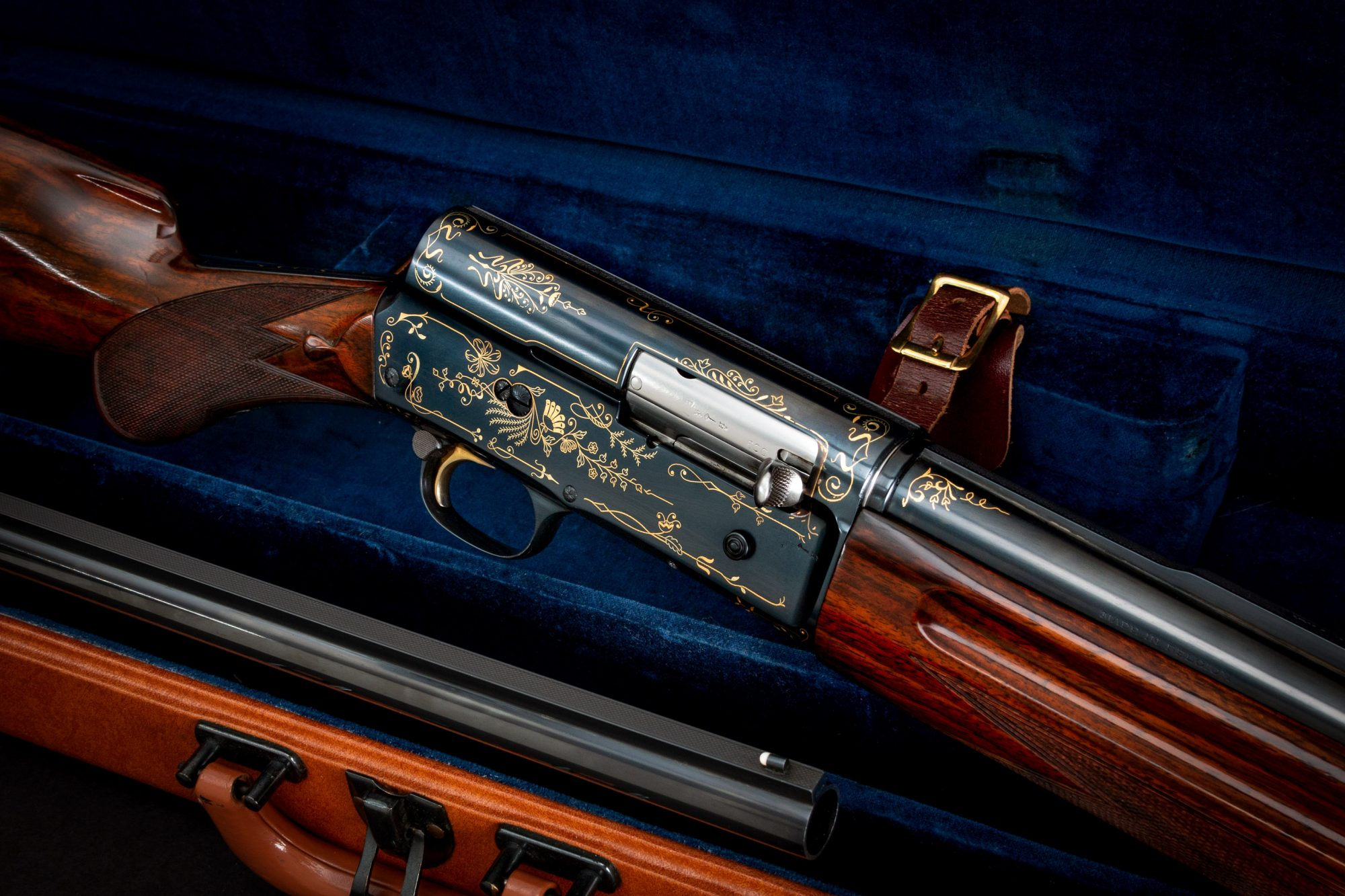 Photo of a pre-owned Browning A5 shotgun, for sale by Turnbull Restoration of Bloomfield, NY