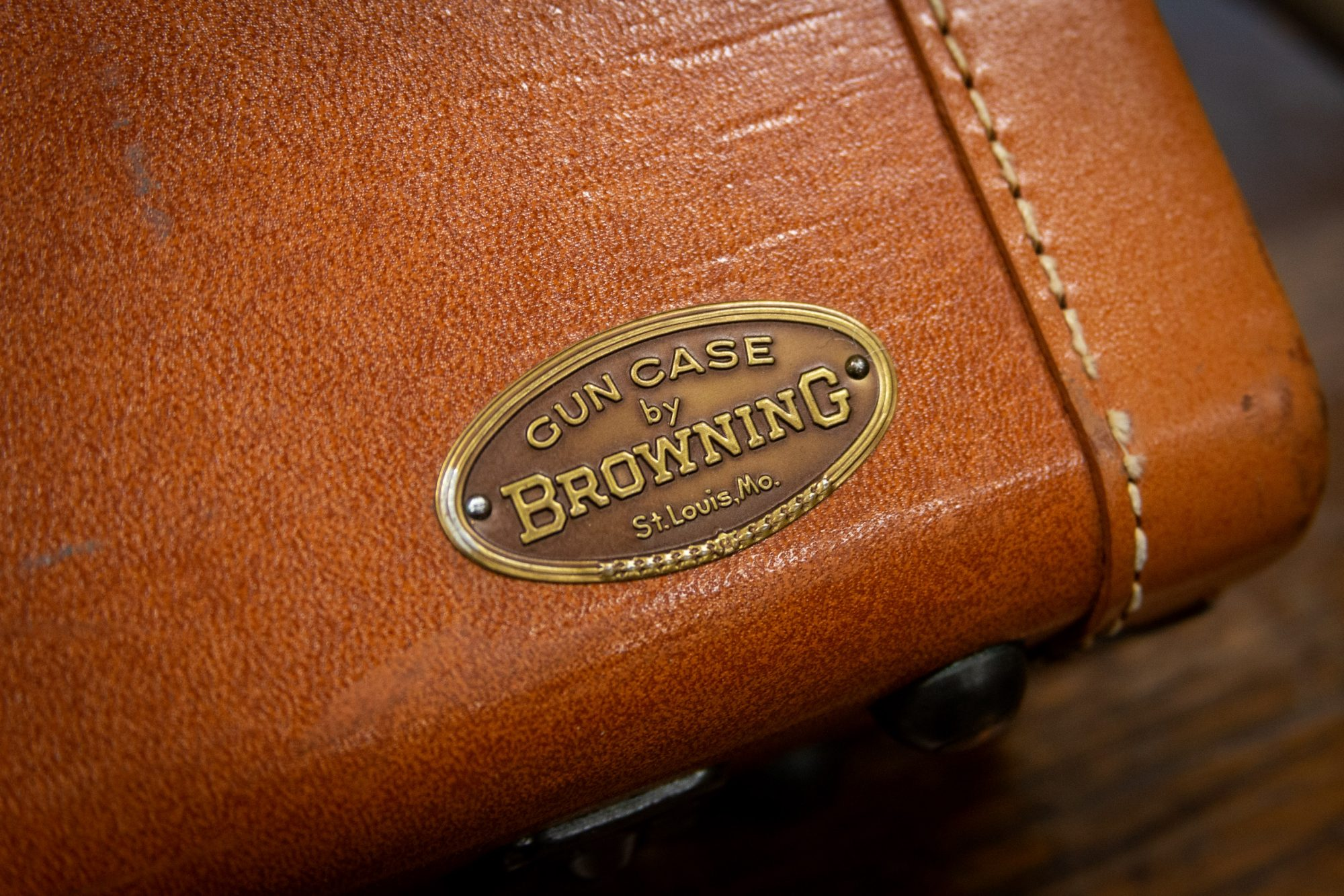 Photo of a pre-owned Browning A5 shotgun case, for sale by Turnbull Restoration of Bloomfield, NY