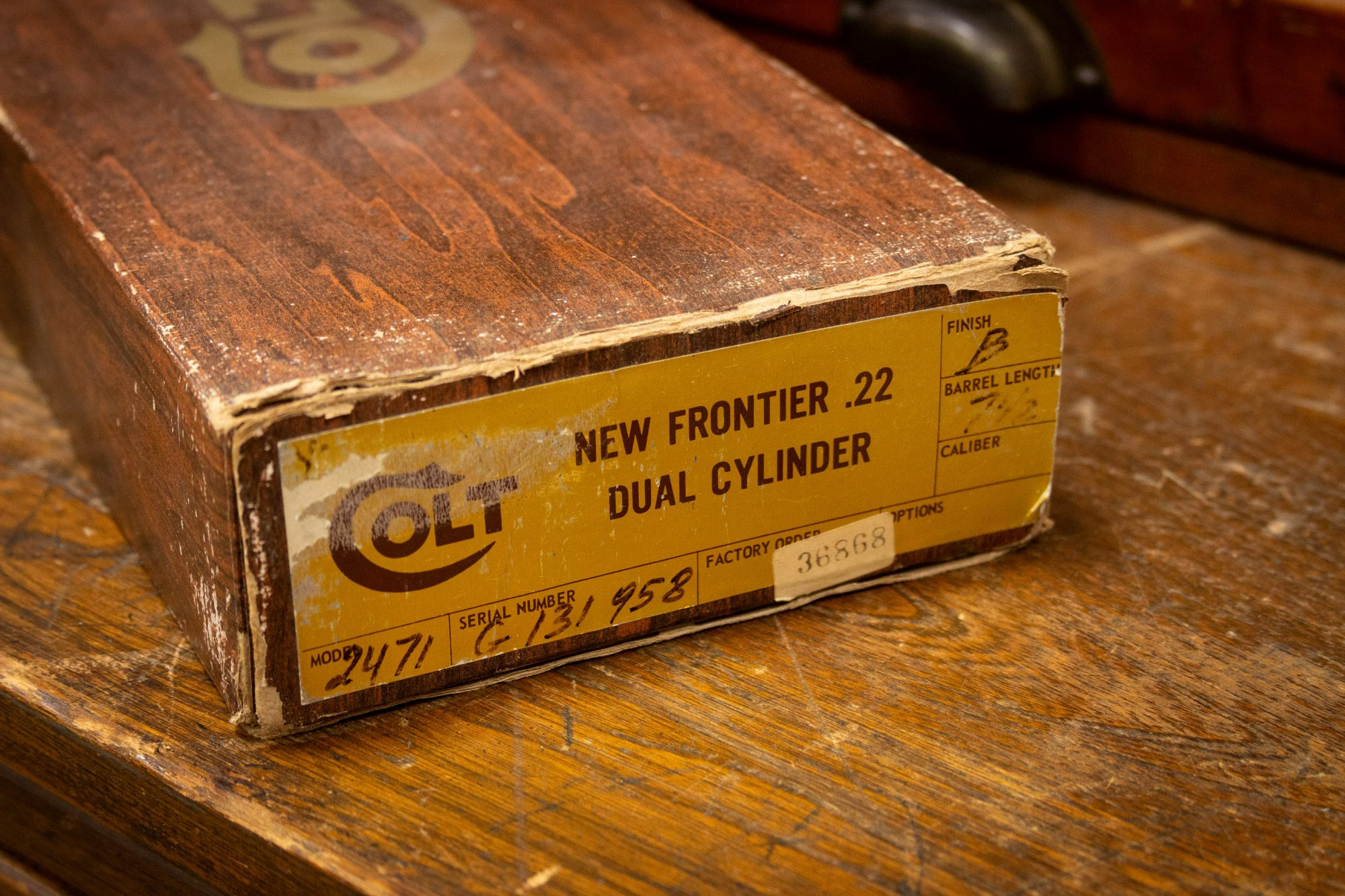 Photo of pre-owned Colt New Frontier revolver extras, for sale by Turnbull Restoration of Bloomfield, NY