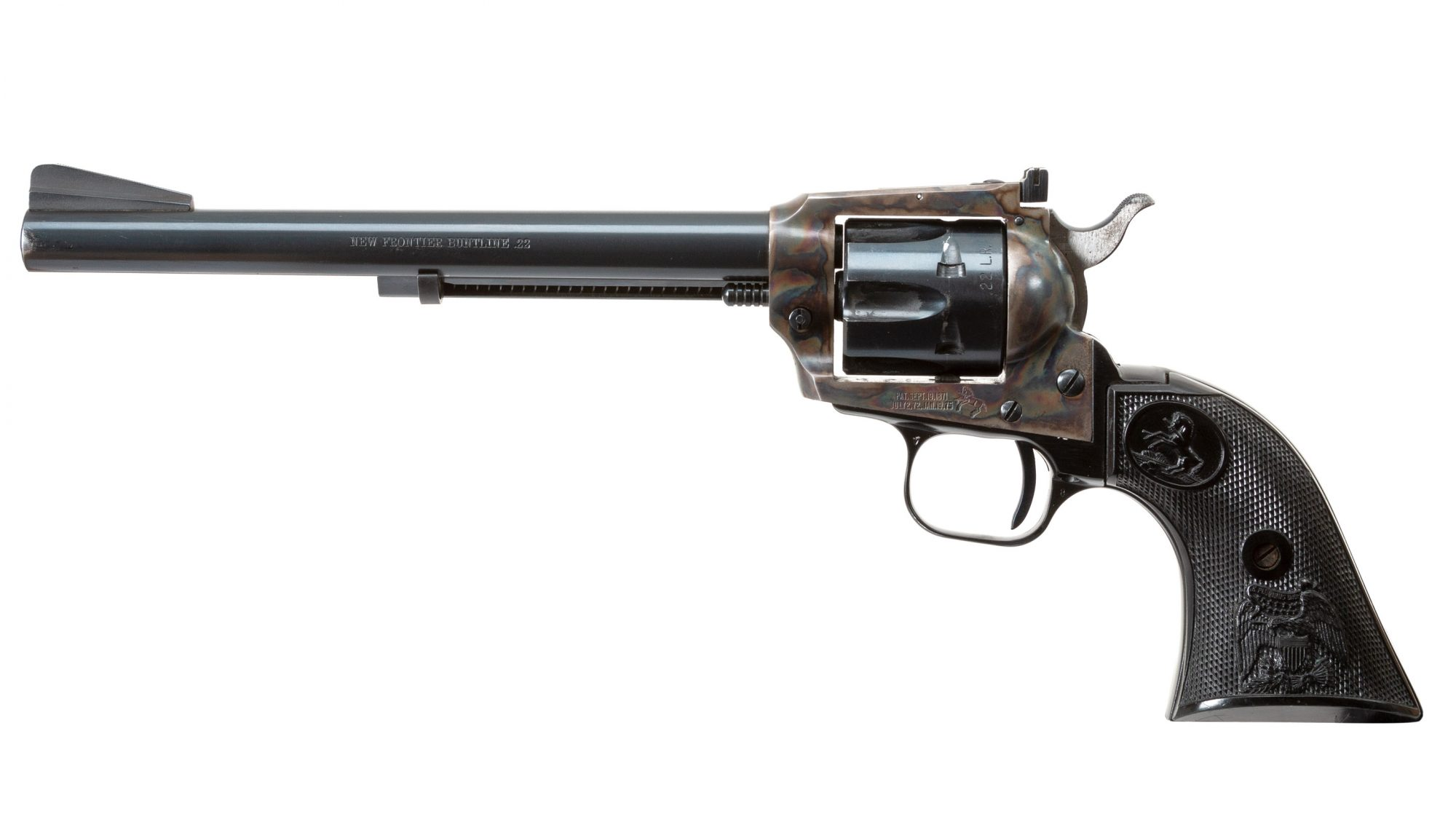 Photo of a pre-owned Colt New Frontier revolver, for sale by Turnbull Restoration of Bloomfield, NY