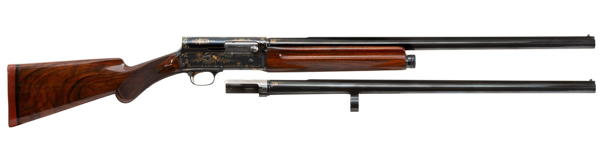 Photo of a pre-owned Browning A5 shotgun with 2nd barrel, for sale by Turnbull Restoration of Bloomfield, NY