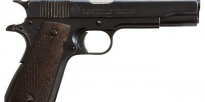 Photo of a pre-owned Argentino Colt 1911, for sale by Turnbull Restoration of Bloomfield, NY