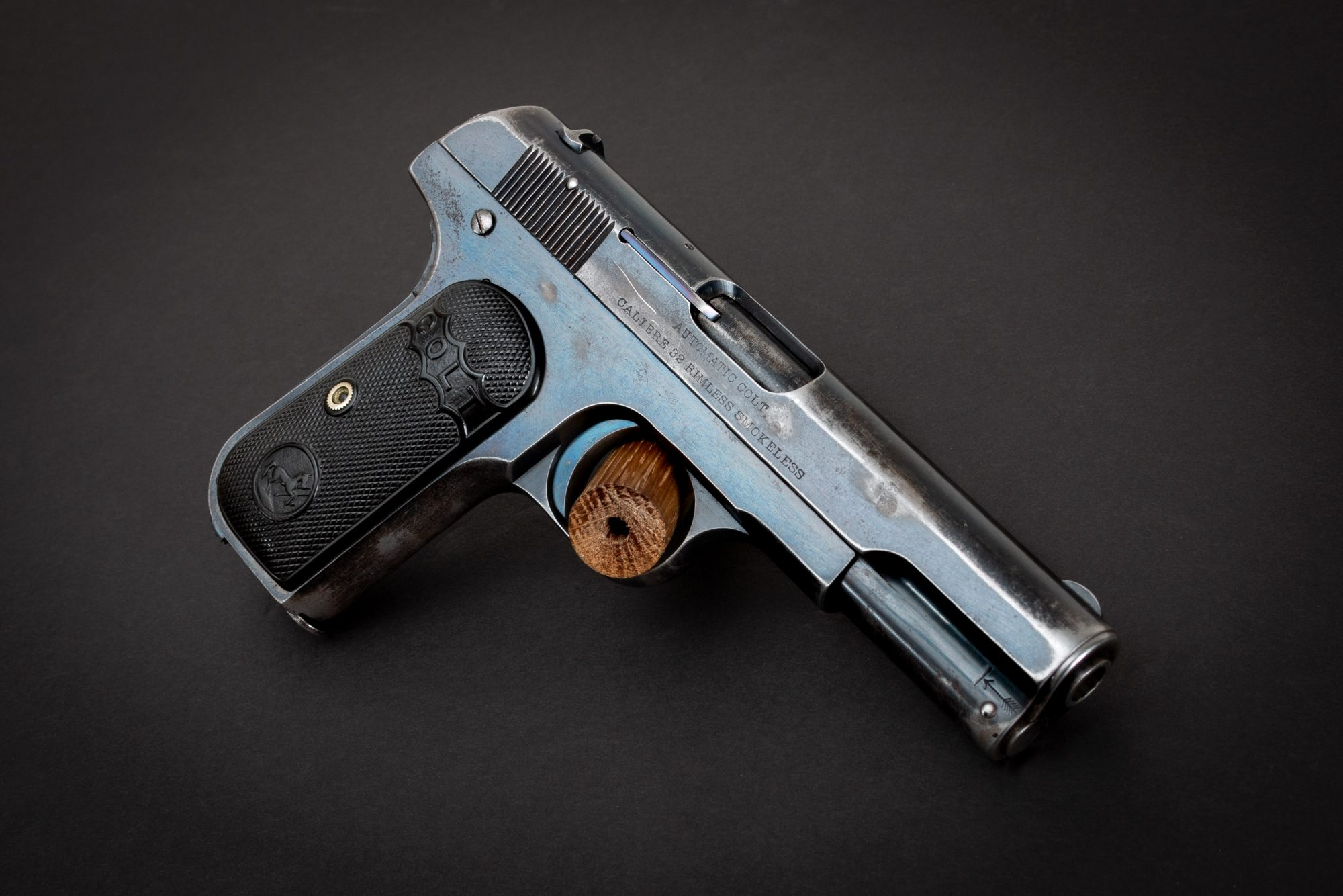 Photo of a pre-owned Colt Model 1903 in .32 Auto, for sale as-is by Turnbull Restoration in Bloomfield, NY