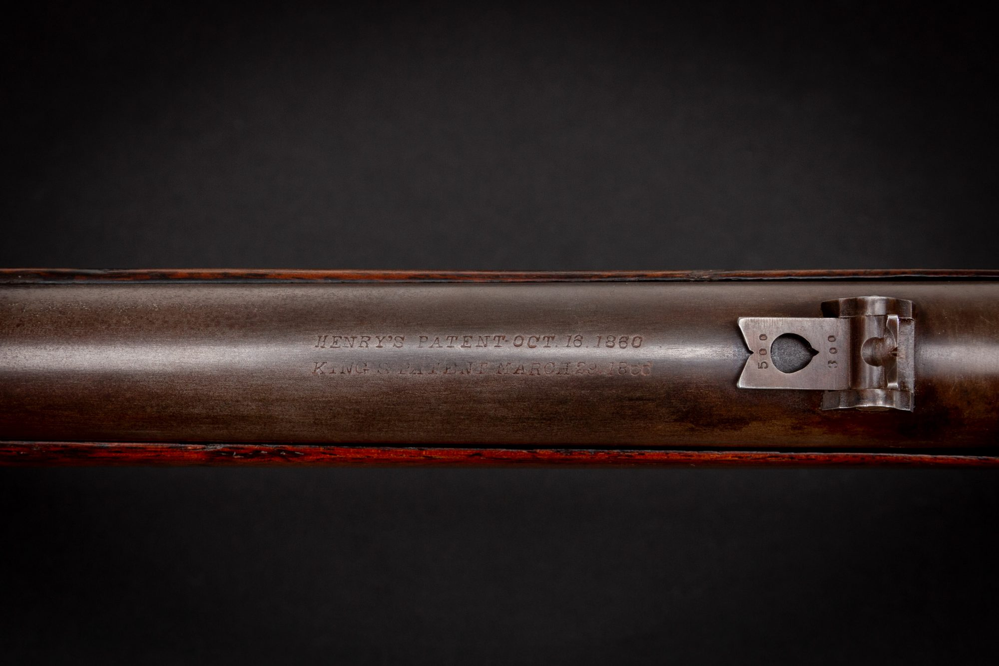 Photo of a Winchester Model 1866 First Model, for sale as is by Turnbull Restoration of Bloomfield, NY