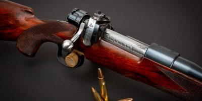 Photo of a Griffin & Howe Mauser Sporting Rifle in .30-06 from 1934