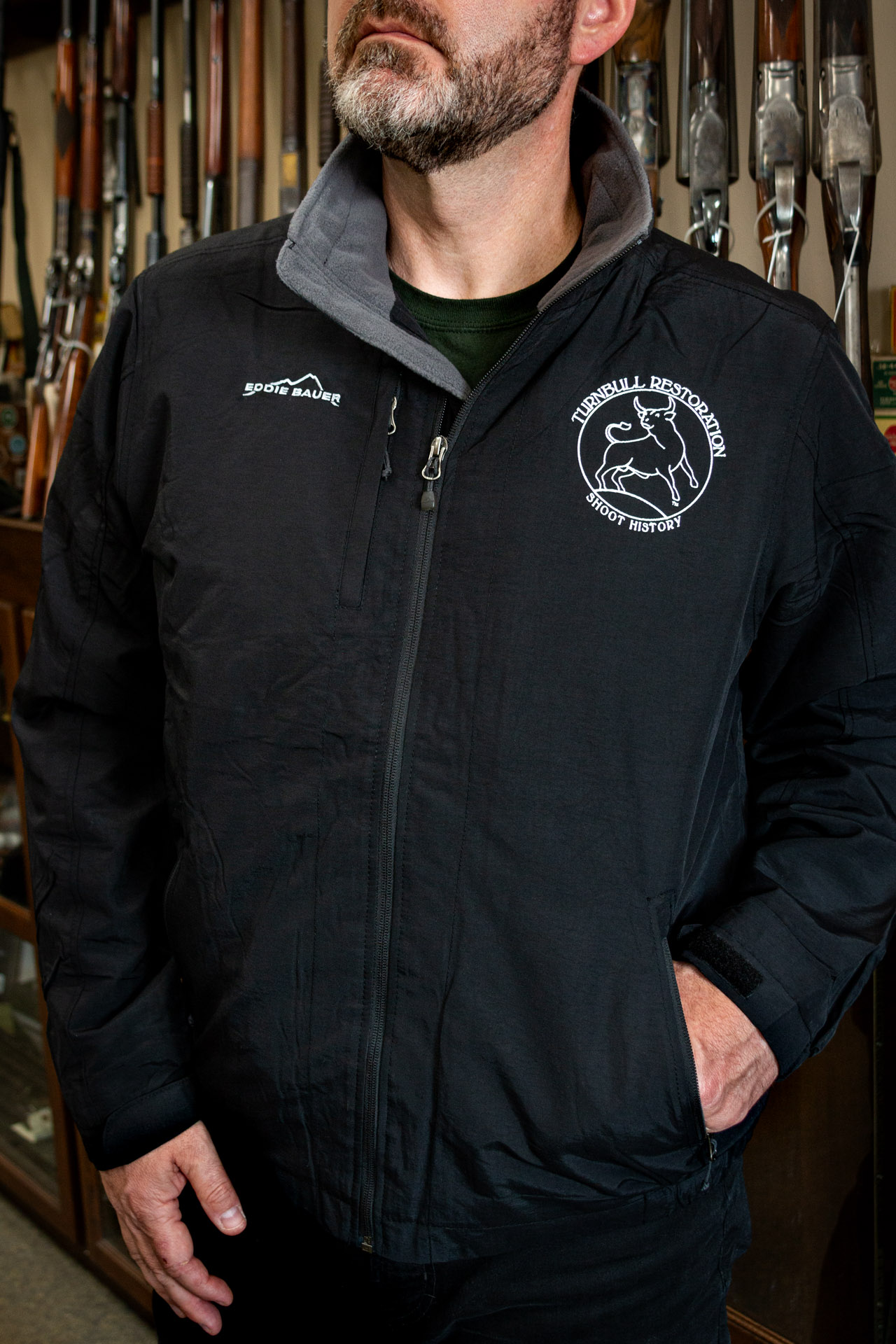 Photo of a Turnbull Restoration insulated jacket