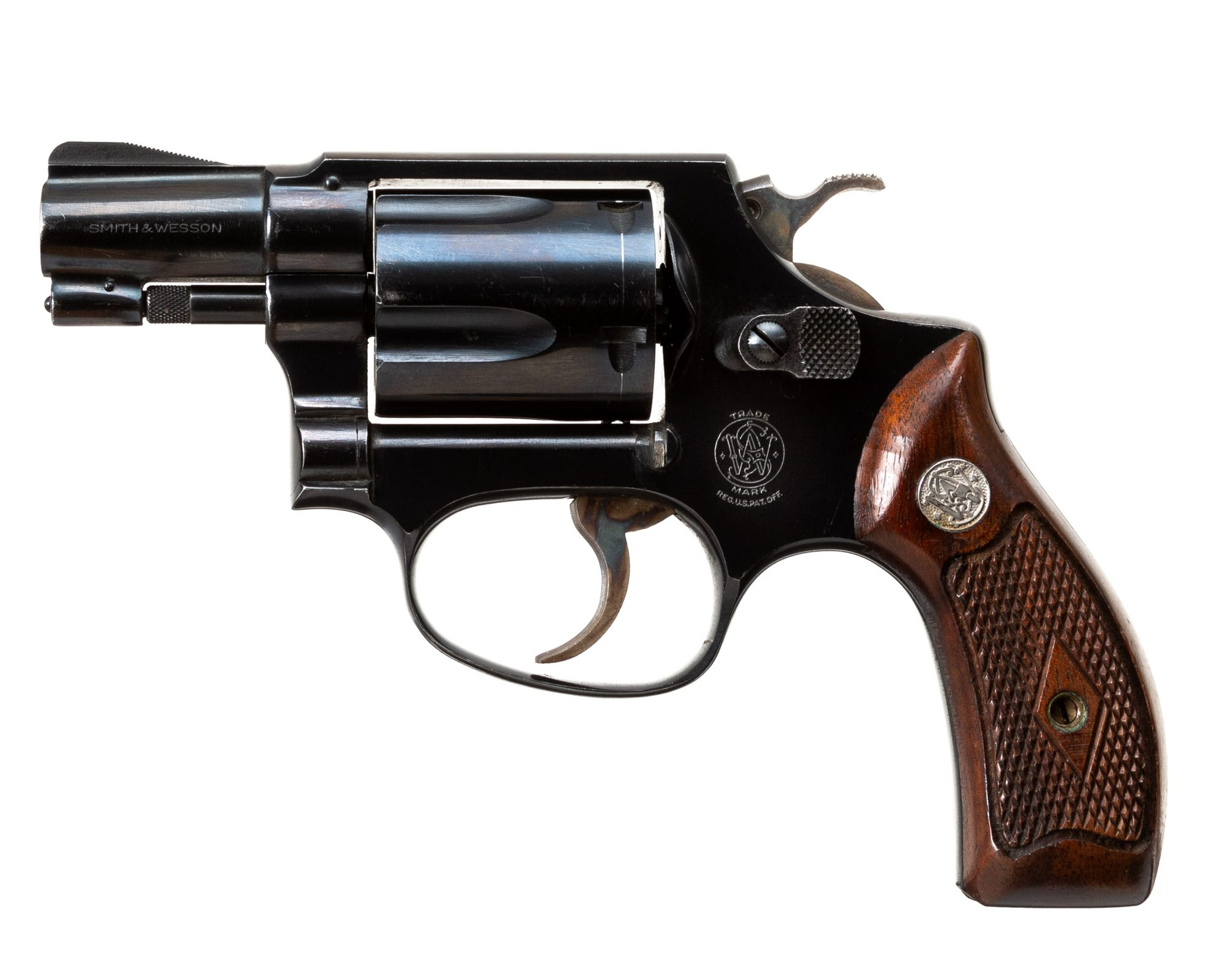 Photo of a pre-owned Smith and Wesson Model 36 in .38 Special, for sale by Turnbull Restoration of Bloomfield, NY