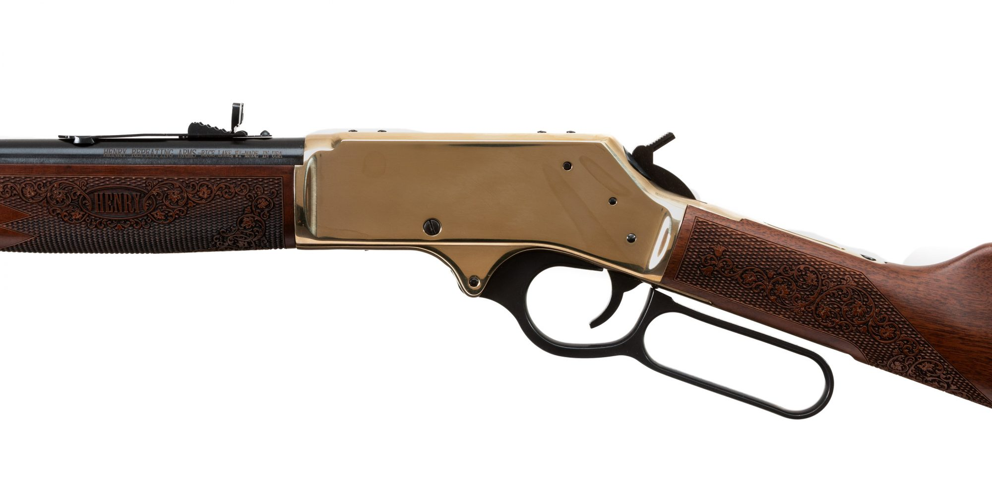 Photo of a Henry Side Gate Lever Action Rifle, for sale by Turnbull Restoration of Bloomfield, NY