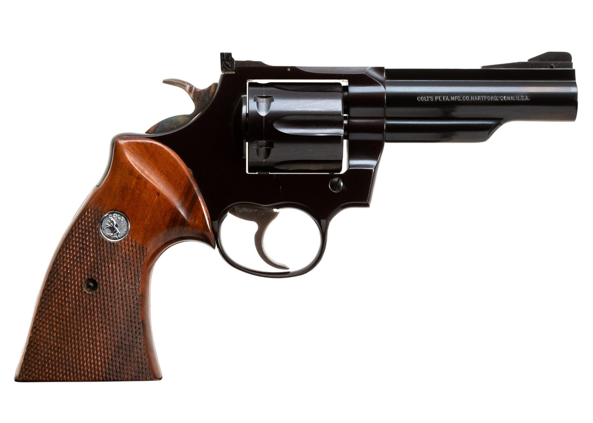 Photo of a pre-owned Colt Trooper MK III in .357 Magnum, for sale by Turnbull Restoration of Bloomfield, NY