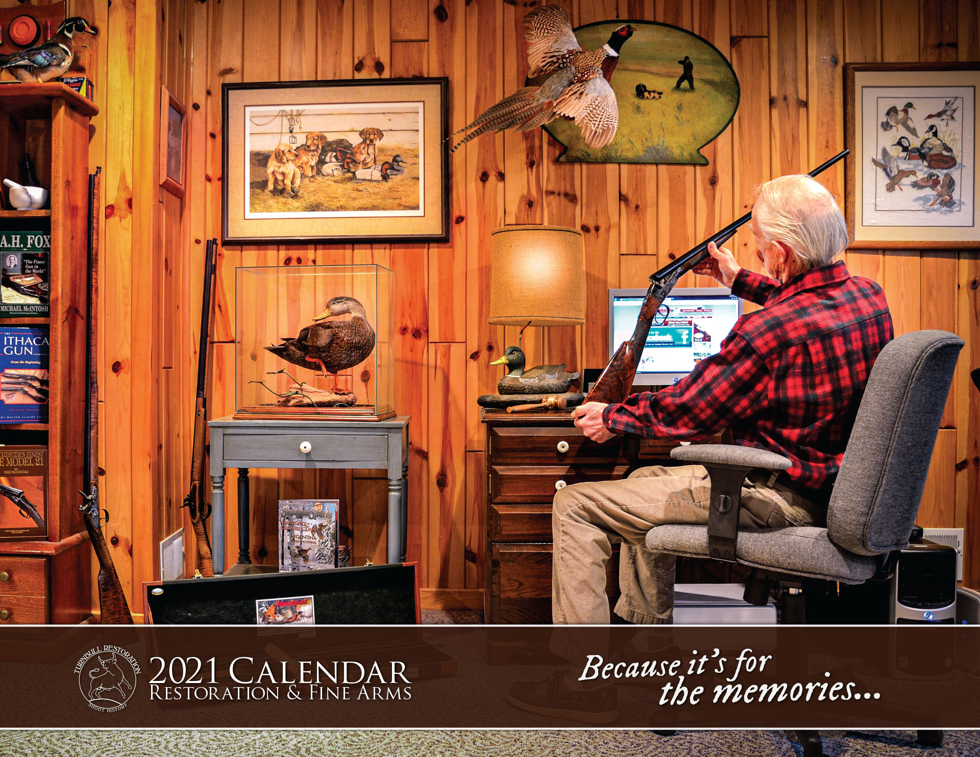 Image of the Turnbull Restoration 2021 calendar cover
